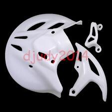 CRF250 CRF450 Dirt Pit Bike Front Rear Brake Caliper Disc Plate Cover Guard Set