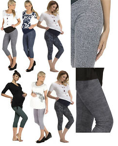 Maternity Long Trousers Pants Pattern Leggings Combed Cotton