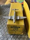 6 X DINKY 70E METEOR TWIN JET FIGHTER IN RARE ORIGINAL TRADE BOX 1940s/50s