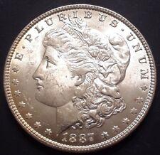 1887 $1 Morgan Silver Dollar MS++++