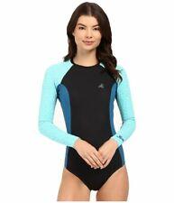 Xcel Drylock Smart Fiber Cheeky Swim Springsuit Rashguard Black Large New! $100