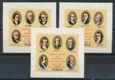 231486) Tonga Dienst Nr.144-6** 200 Jahre USA