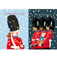 Help For Heroes Christmas Card Pack (Medium) - Snowy Guards (5 of Each Design)