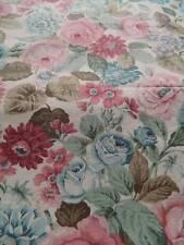 "Vintage UNUSED curtain weight cotton fabric SANDERSON ""Bickham "" - 1yd (21yards)"