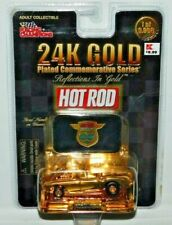 RACING CHAMPIONS HOT ROD 24K GOLD PLATED SERIES CORVETTE