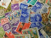 100 GB Used Stamps - All Different Selection of George VI to QE2 Stamps