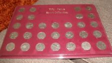 FULL SET OF 29 OLYMPIC 50p FIFTY PENCE COINS IN HOLDER - BRITISH  COIN HUNT 2012