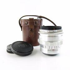 Für M42 Carl Zeiss Jena Alu Biometar 2,8/80 red T Q1 Objektiv lens + case