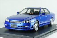 ignition model 1/18 Nissan Skyline 25GT Turbo (ER34) Blue Metallic IG1577 EMS