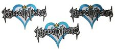 Kingdom Hearts Name Logo Embroidered Set of 3 Patches