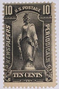 Travelstamps: US Stamps Scott # PR117 10 Cents Newspaper Stamp Mint OG Hinged