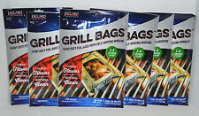Lot 6 Packs Jaccard Grill Foil Bags 3 Large Bags Each With Self Venting Window