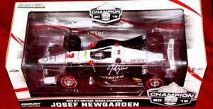 AUTOGRAPHED byJosef Newgarden 2019 #2 Dallara Chevy IndyCar Series Champion 1:18
