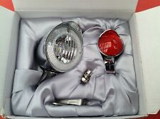 Classic Bicycle LED Light Set inc batteries. Boxed set No2