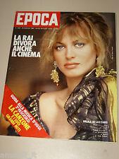 EPOCA=1980/1563=DALILA DI LAZZARO=FILM FLASH GORDON=FELA KUTI=AMERICA'S CUP=