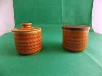 Hornsea Saffron Preserve Pots x 2