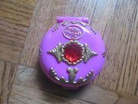 Polly Pocket Locket 1992 Bluebird No Doll or Cord inside Rare Vintage Pink