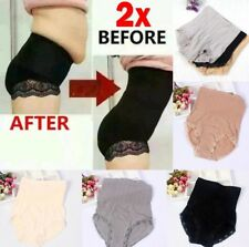 2x Women High Waist Tummy Control Body Shaping Panties Women Seamless Control