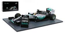 Spark 18S179  Mercedes W06 Winner US GP 2015 - Lewis Hamilton /Pit Board 1/18