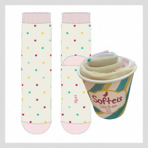 Softeis Socken EIS Buntesocken LUSTIGE Socken Damen - GIRLS