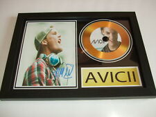 AVICII  SIGNED  GOLD CD  DISC 21