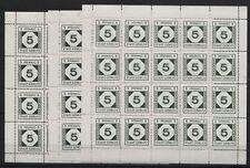 Lokalausgabe Görlitz 9 x im 20er-Bogen postfrisch (B08264)
