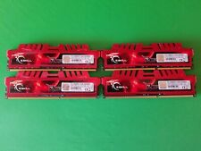 G.SKILL RipjawsX DDR3-1600MHz CL10-10-10 1.50V 32GB (4x8GB) F3-12800CL10Q-32GBXL