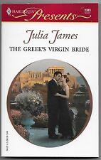 The Greek's Virgin Bride by Julia James (2004, Paperback)