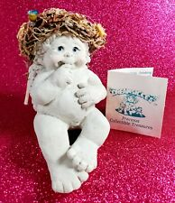"New ListingLittle Angel Figurine Dreamsicles ""Wishin' On A Star"" Shelf Sitter K. Haynes Nib"