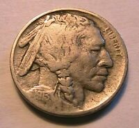 1913-P T2 Buffalo Nickel Ch Fine Original Grey Toned Indian Head 5 Cents Coin