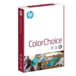 HP A4 COLOR CHOICE PAPER 90gsm COLOUR LASER WHITE PRINTING LASER 1 BOX 2500