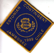 Boy Scout Badge 19 WORLD JAMBOREE CHILE 1999 ESTONIAN Contingent