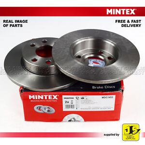 CHEVROLET OPEL VAUXHALL CORSA Mk II C X01  MINTEX FRONT DISC BRAKES MDC1453 PAIR