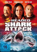 DANNY TREJO - 3-HEADED SHARK ATTACK: MEHR KÖPFE-MEHR TOTE (UNCUT  DVD NEUF