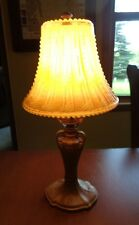 Vintage Art Deco Style Desk/Table Lamp With Decorative Beaded Glass Shade
