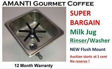 NEW MixTec professional Coffee Milk Jug / Pitcher Rinser / Washer +AMANTI Bonus