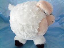 "Peek a Boo plush stuffed White Puff Body Baby Lamb 9""L"