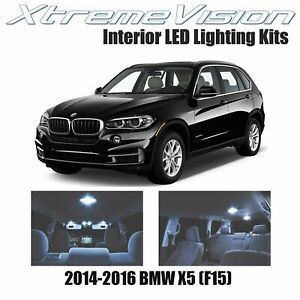 XtremeVision Interior LED for BMW X5 (F15) 2014-2016 (17 PCS) Cool White