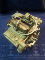 USED HOLLEY LIST 50419 / E6JL-9510-JA 600 CFM VACUUM SECONDARY MARINE CARBURETOR