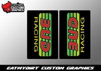 FOR CRF KTM YZF KXF RMZ 125 250 350 450 UPPER FORK WRAP STICKERS GRAPHICS MX