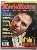 MARK RUFFALO Spring 2004 MOVIE MAKER  Magazine LARS VON TRIER  / CHARLIE KAUFMAN