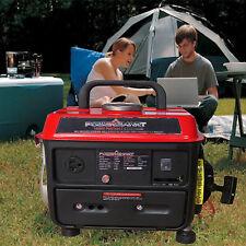 Portable Gas Powered Generator 1000 Watt Lightweight Quiet Camping Home Cover