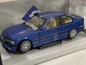 BMW M3 E36 Coupe 1990 Blue 1:18 Solido 1803901