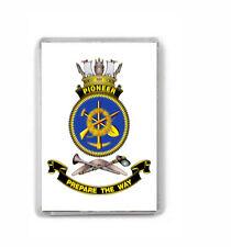 HMAS PIONEER ROYAL AUSTRALIAN NAVY FRIDGE MAGNET IMAGE FUZZY TO STOP WEB THEFT