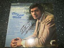 "Engelbert Humperdinck signed The Last Waltz 12"" LP"