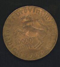 Westfalen 1923 J 20 10000 Mark Notgeld st