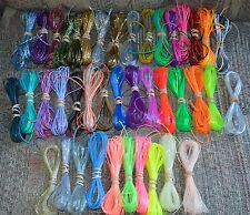 specialty colors lot rexlace plastic lace boondoggle gimp lanyard lacing