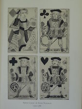 LA COLLECTION DE CARTES A JOUER DU MUSEE HISTORIQUE  CARTIERS ORLEANAIS  1917
