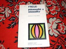 freud psicoanalisi e sessualità newton brossura cucita 1970