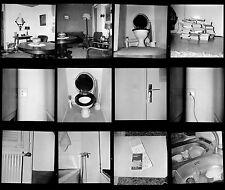 Lot 12 Négatifs photos anciens an. 1960 - Série abstraite objets quotidiens